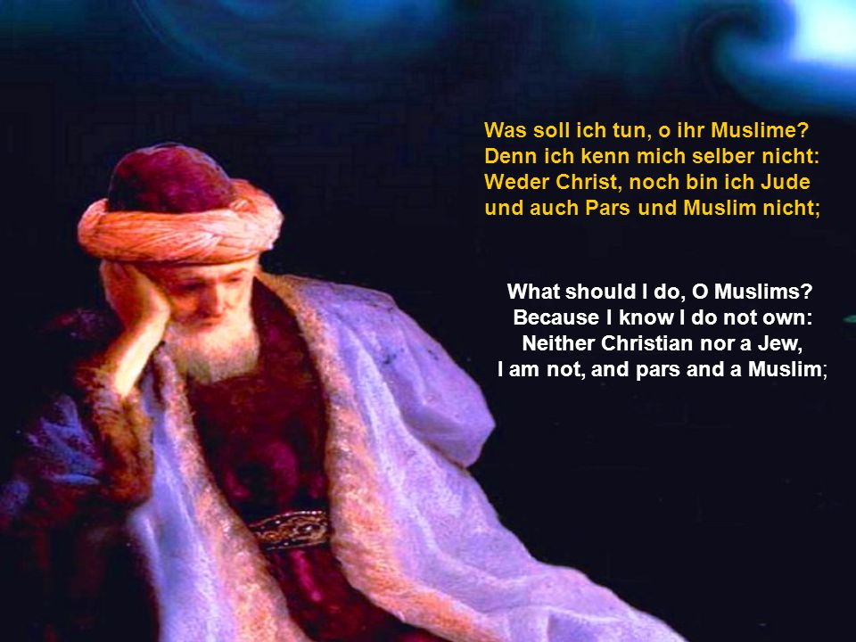What should I do, O Muslims.