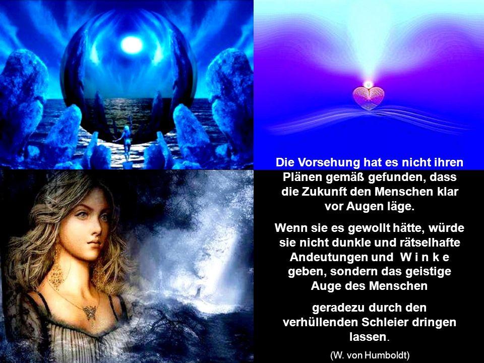 Wir sind von einer Atmosphäre umgeben, von der wir noch gar nicht wissen, was sich alles in ihr regt und wie es mit unserem Geiste in Verbindung steht.