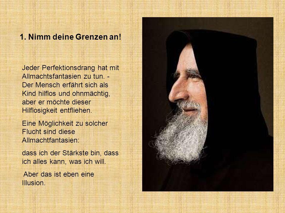 Tipps von Pater Anselm Grün hme12@t-online.de