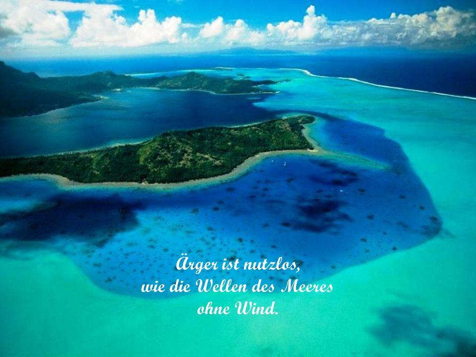 Das Meer ist der Raum der Hoffnung.