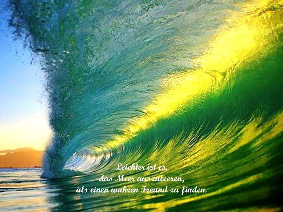 Am Becher ertrinken mehr denn im Meer.