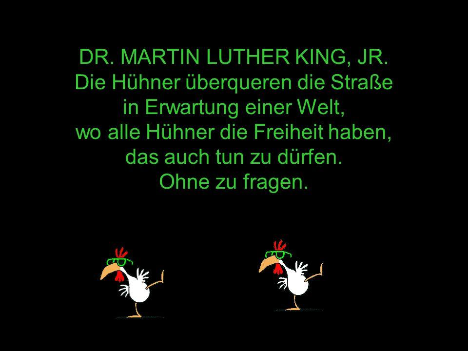 DR.MARTIN LUTHER KING, JR.