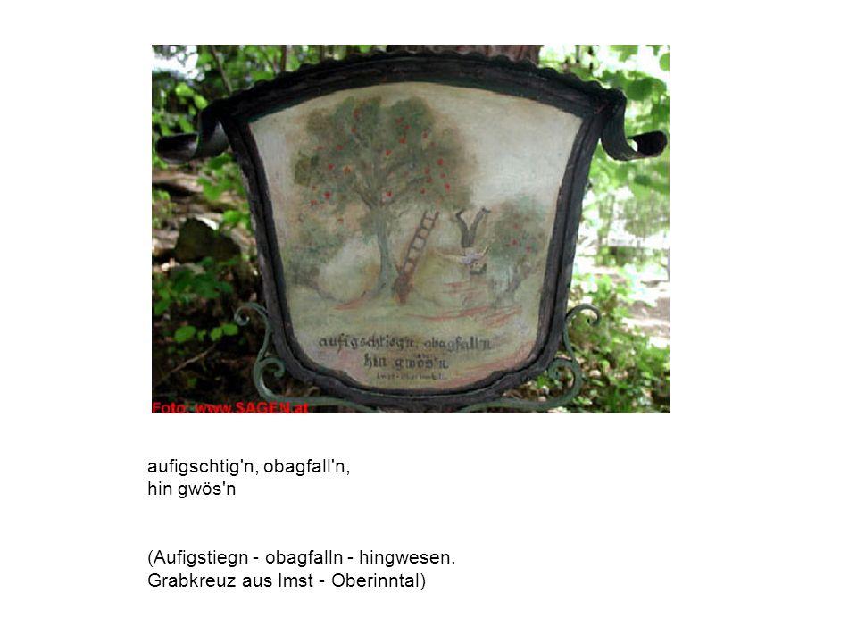 Hier ruht in Gott Adam Lentsch 26 Jahre lebte er als Mensch und 37 Jahr als Ehemann (Herreninsel, Chiemsee)