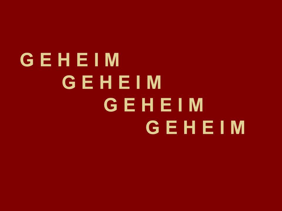 G E H E I M G E H E I M