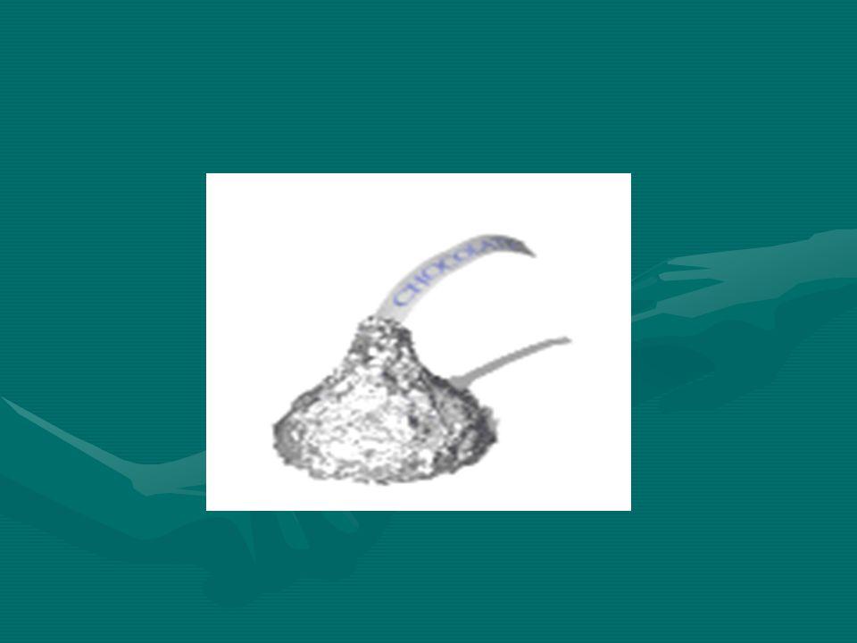 4.Das Wort verschenken verursacht in Bezug auf Schokolade Wohlbehagen.