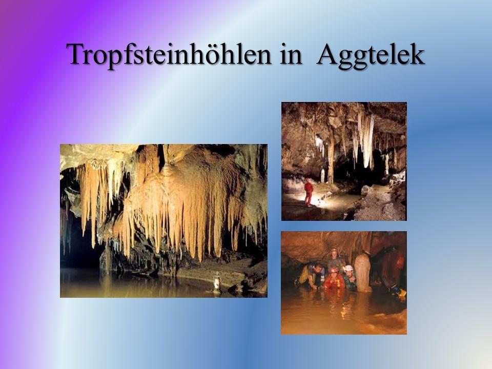 Tropfsteinhöhlen in Aggtelek