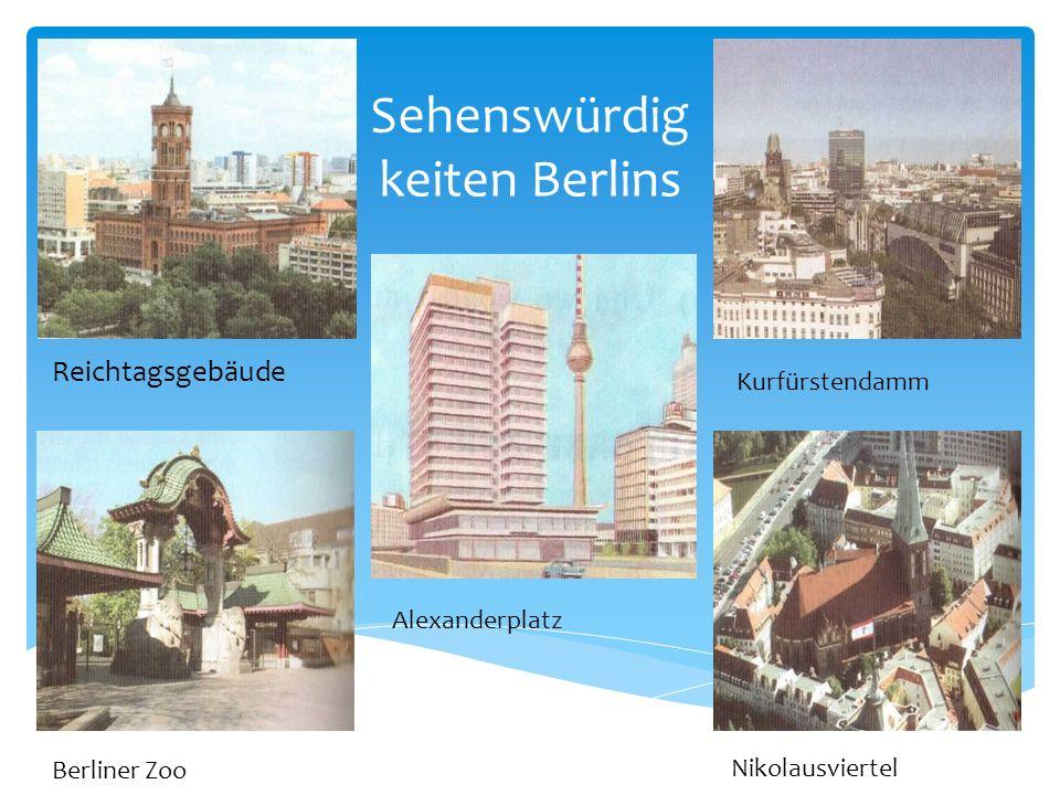 «Der schőnste Ort in der Welt» Да, Берлин и другие города Германии очень красивые, зелёные, привлекательные для туристов.