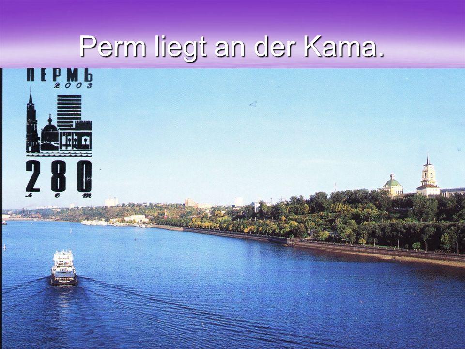 34 Perm liegt an der Kama.