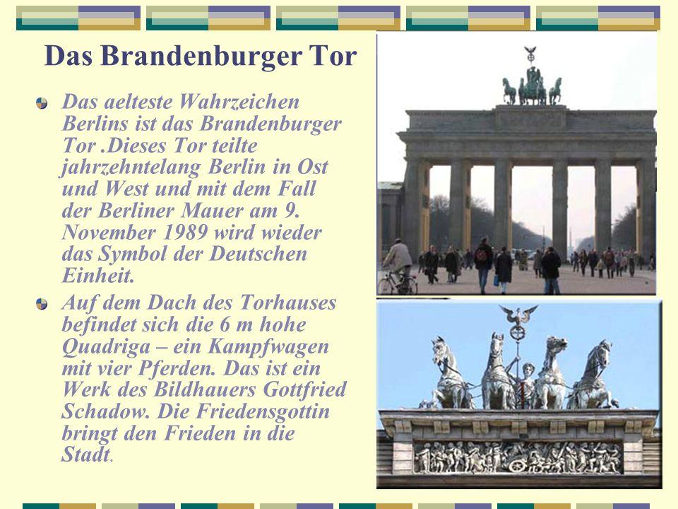 4.Informieren wir uns Berlin ist die Hauptstadt und ein Bundesland der BRD.Diese Stadt wurde im Jahre 1237 gegruendet. Die Flaeche Berlins ist ueber 8