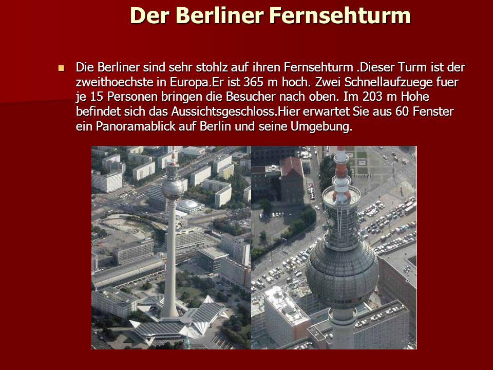 Das Reichstagsgebaude Das ist ein richtiges Architekturdenkmal. Am Ende des 19. Jahrhunderts wurde hier der Reichstag fertiggestellt, Versamlungsstaet