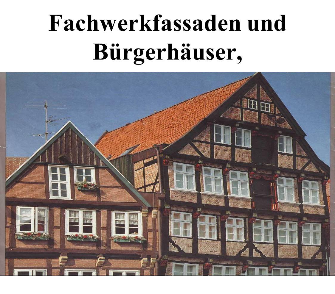 Fachwerkfassaden und Bürgerhäuser,