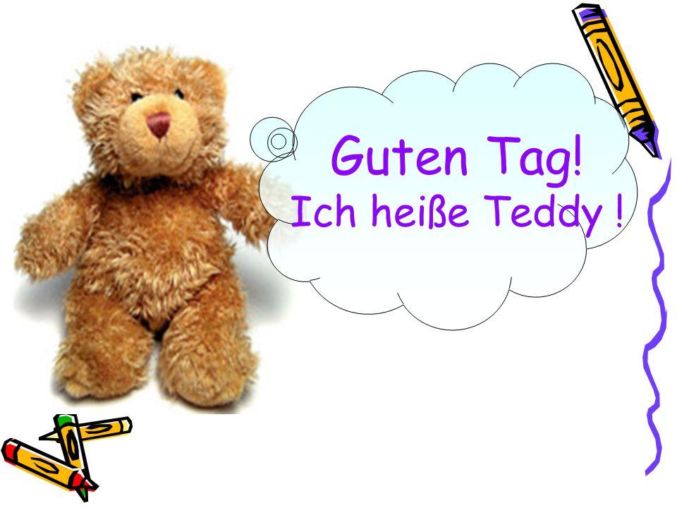 Guten Tag! Ich heiße Teddy !