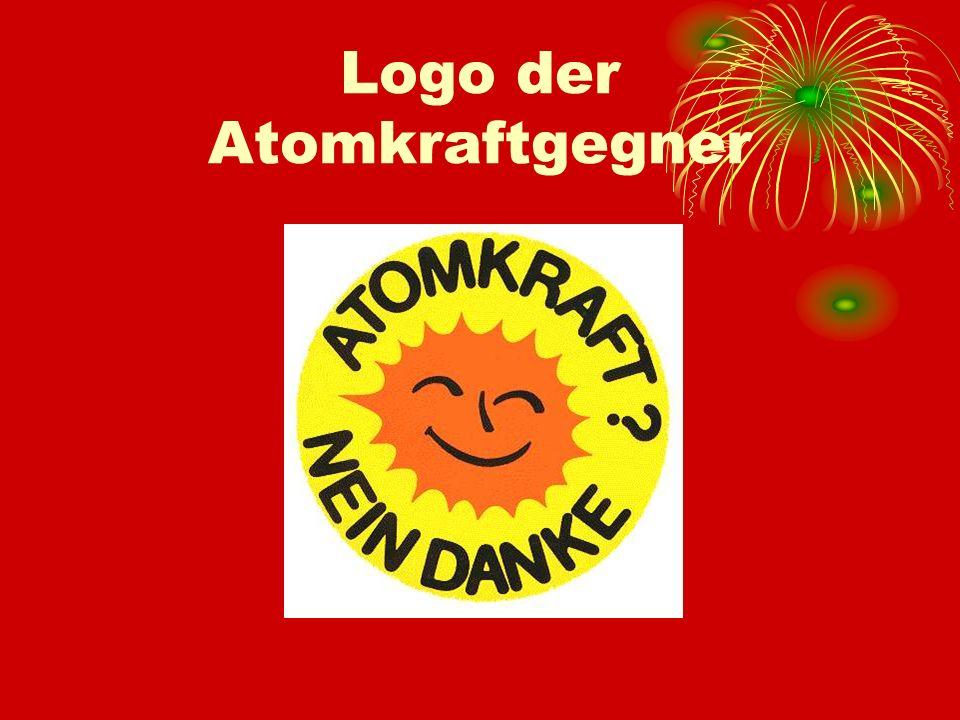 Logo der Atomkraftgegner