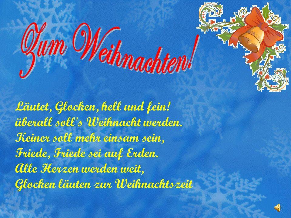 O du fröhliche, o du selige, Gnadenbringende Weihnachtszeit! Welt ging verloren, Christ ist geboren: Freue, freue dich, o Christenheit! O du fröhliche