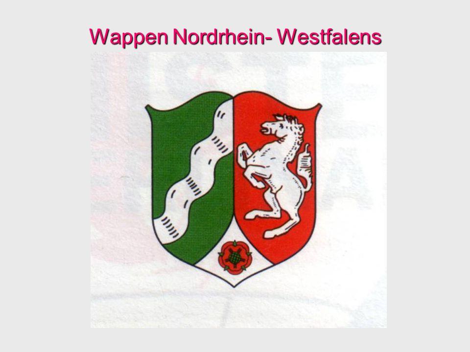 Wappen Nordrhein- Westfalens