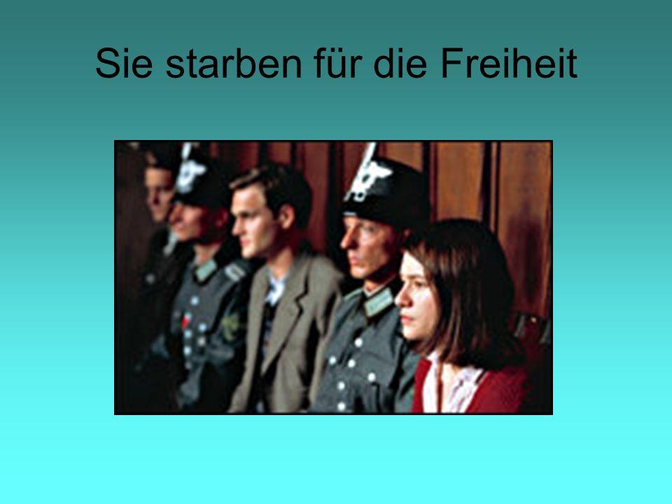 Sie starben für die Freiheit