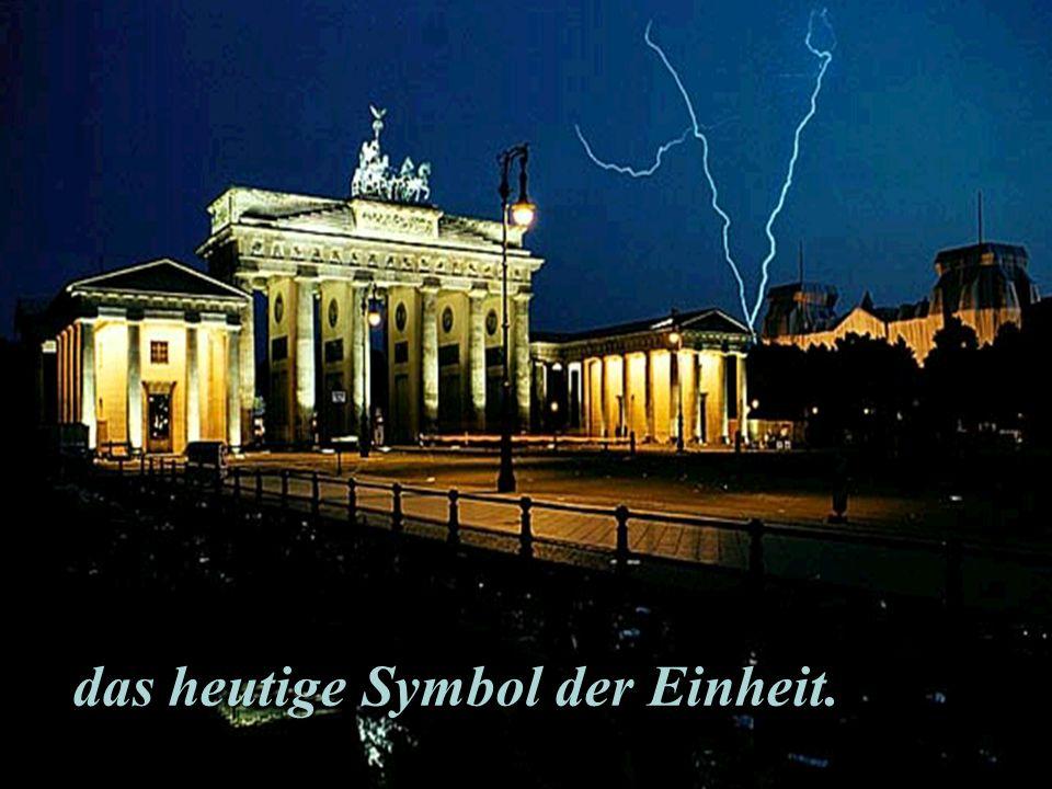 das heutige Symbol der Einheit.