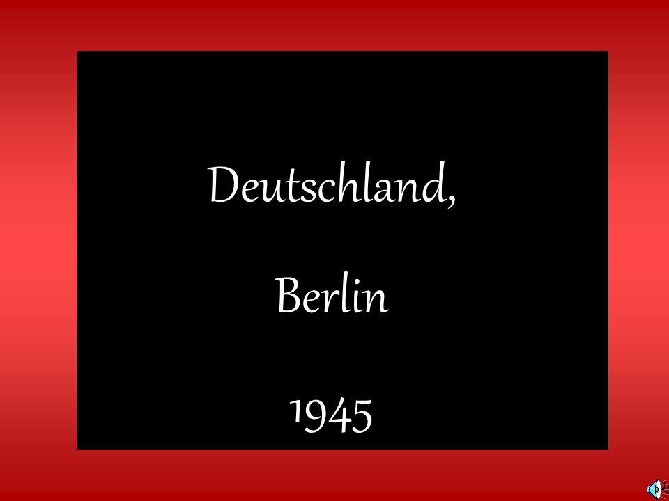 Deutschland, Berlin 1945