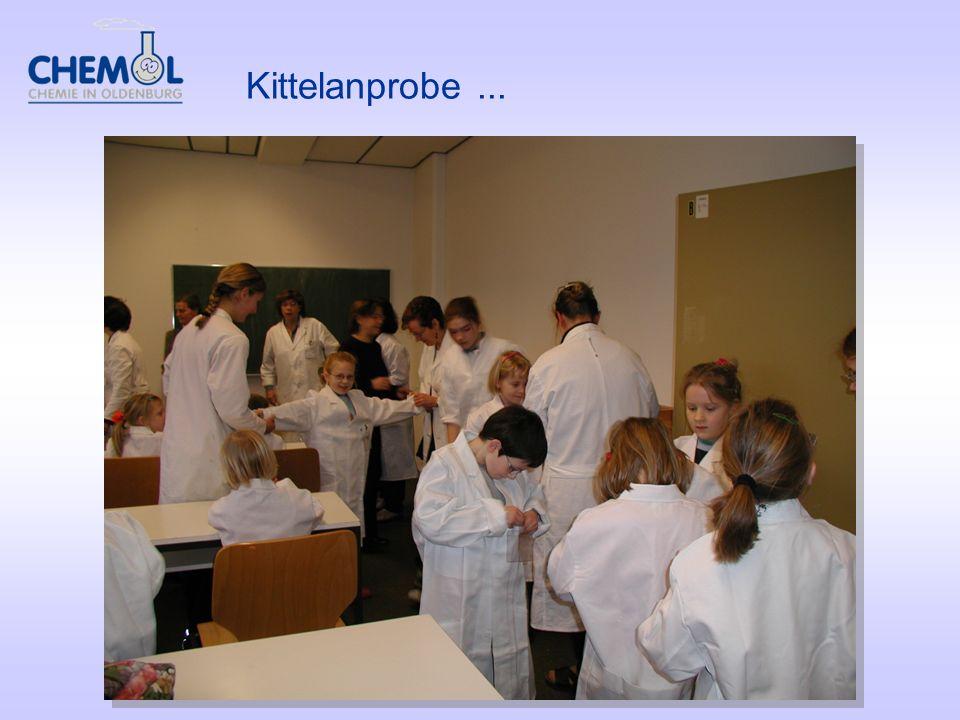 Kittelanprobe...