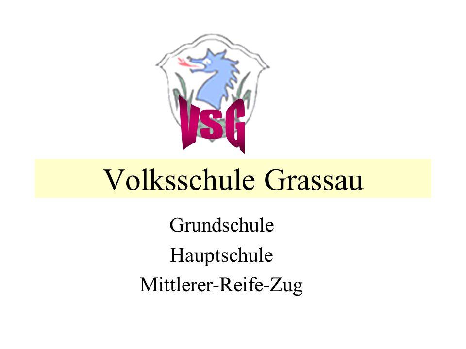 Volksschule Grassau Grundschule Hauptschule Mittlerer-Reife-Zug