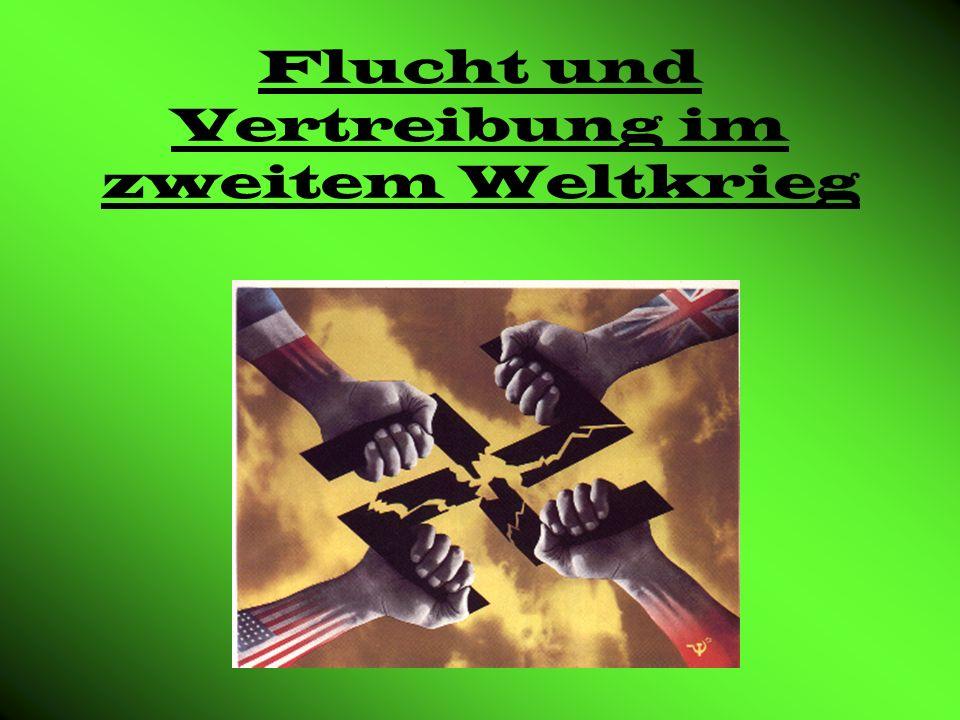 Gliederung Wieso wurden Deutschen vertrieben.