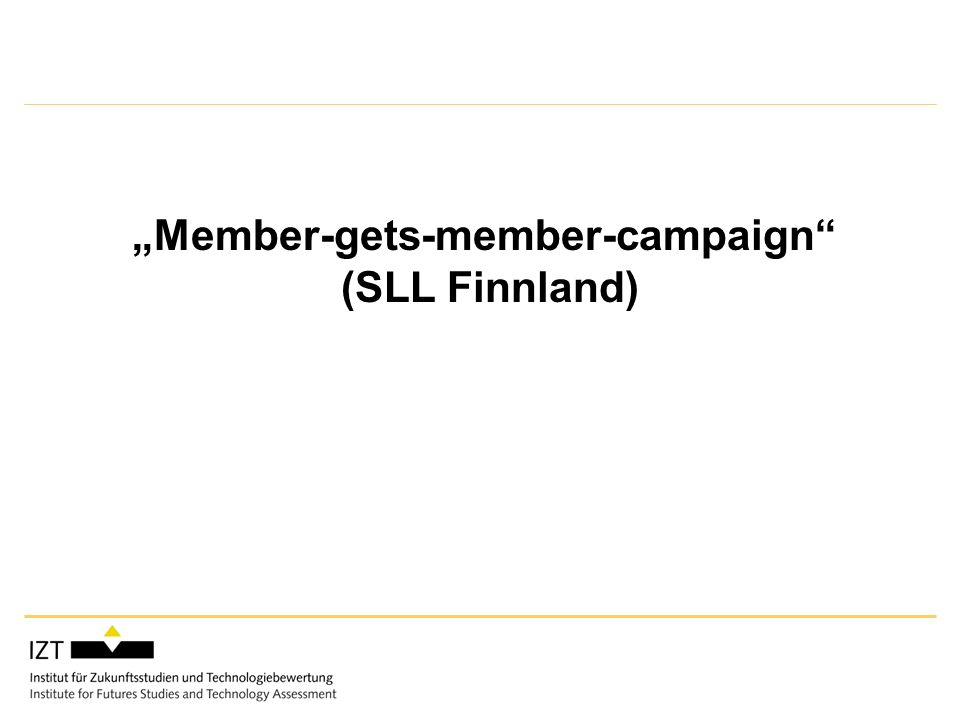 Member-gets-member-campaign (SLL Finnland)