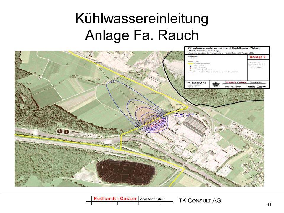 41 Kühlwassereinleitung Anlage Fa. Rauch