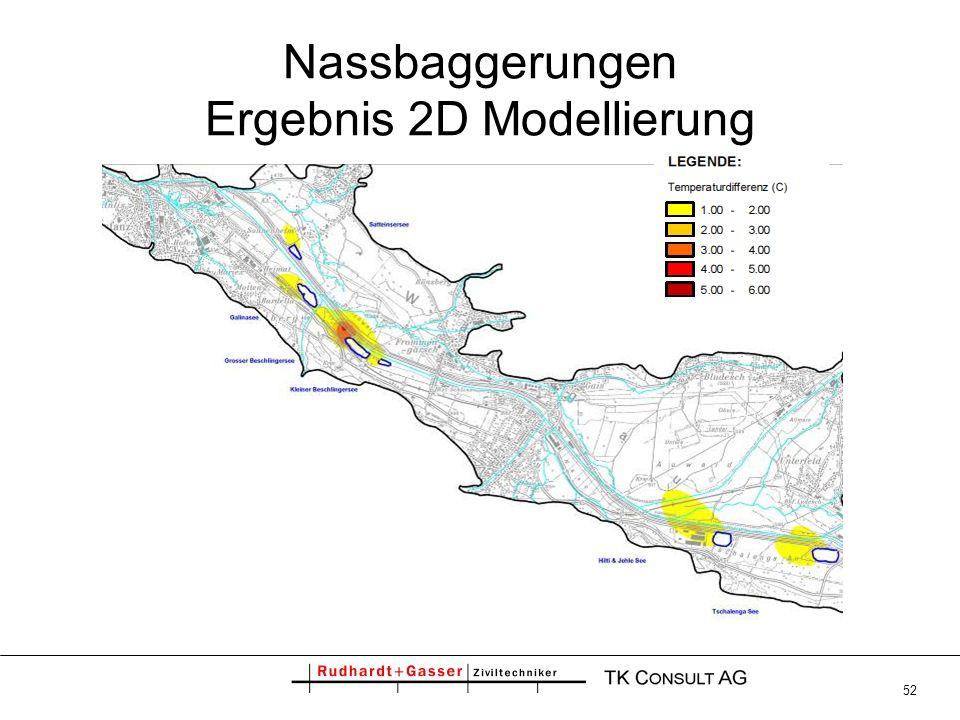 52 Nassbaggerungen Ergebnis 2D Modellierung