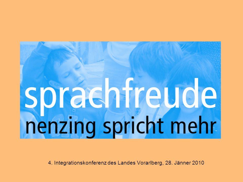 4. Integrationskonferenz des Landes Vorarlberg, 28. Jänner 2010