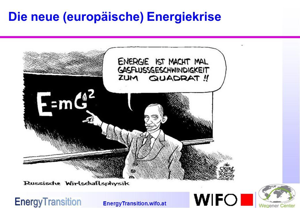 EnergyTransition.wifo.at Die neue (europäische) Energiekrise