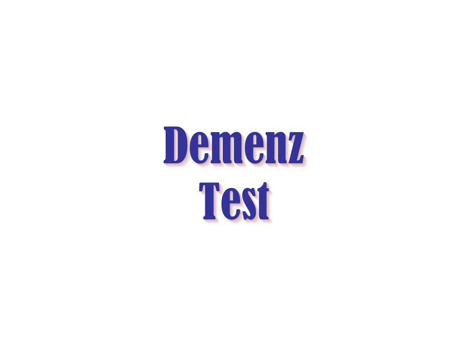 Demenz Test Demenz Test