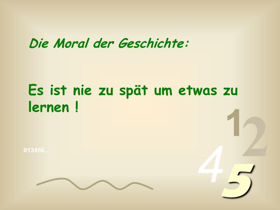 013456… 1 2 4 5 Null Winkel !
