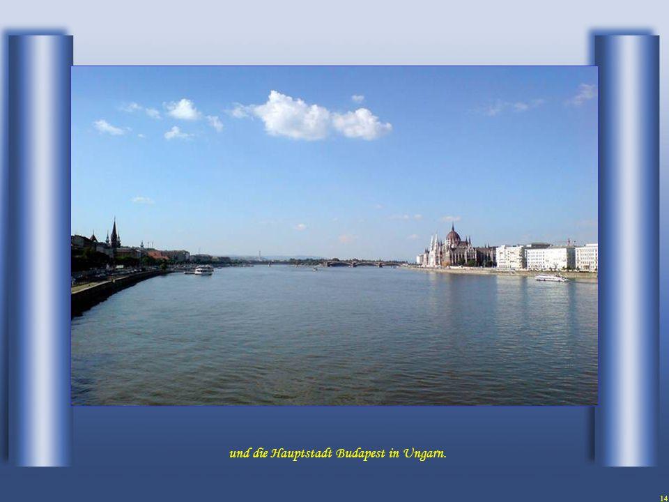 13 Die folgende Hauptstadt Bratislava in der Slowakei.