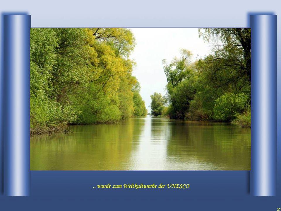 26 Das Naturschutzgebiet des Donaudeltas...