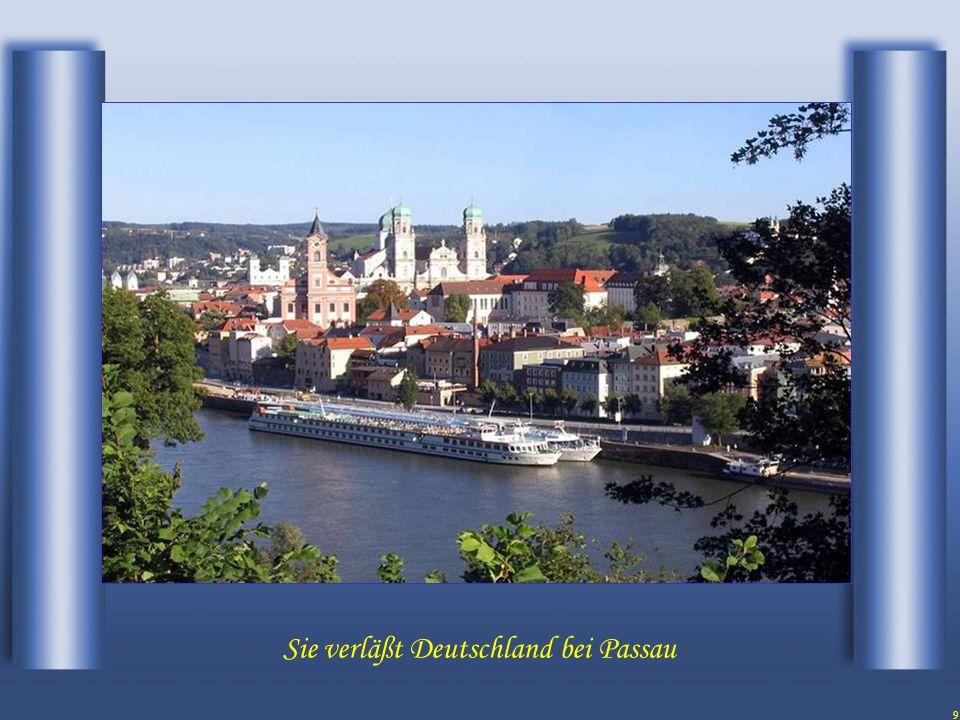 9 Sie verläßt Deutschland bei Passau