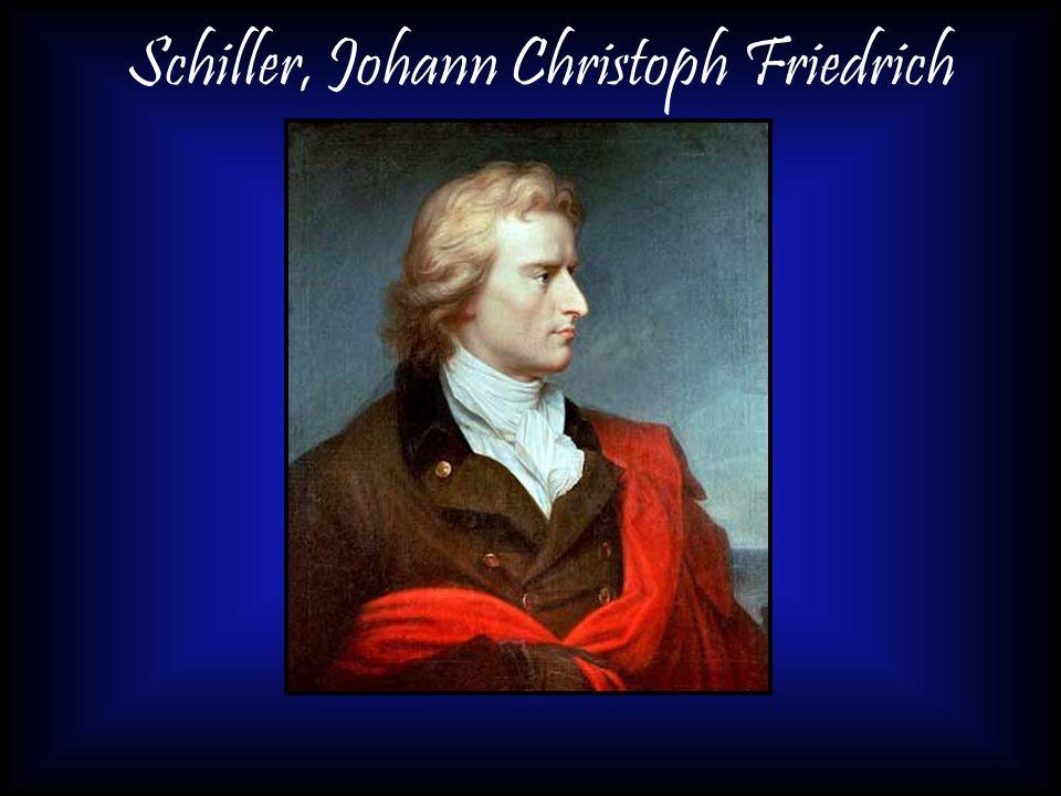 Schiller, Johann Christoph Friedrich