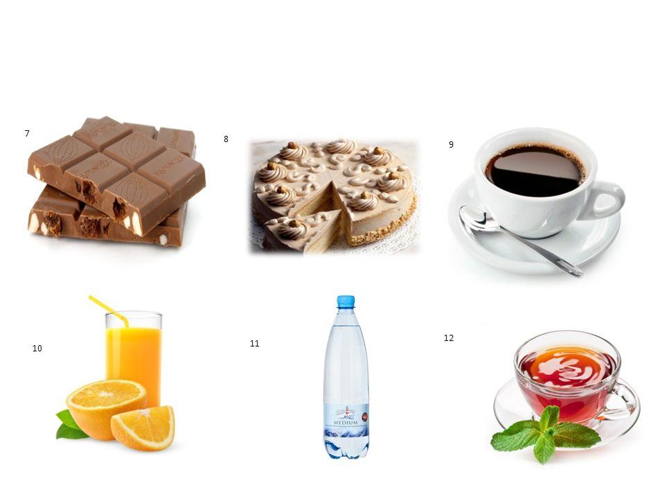 Кontrolliert 1 die Butter 8.die Torte 9. der Kaffee 2 der Käse 10.