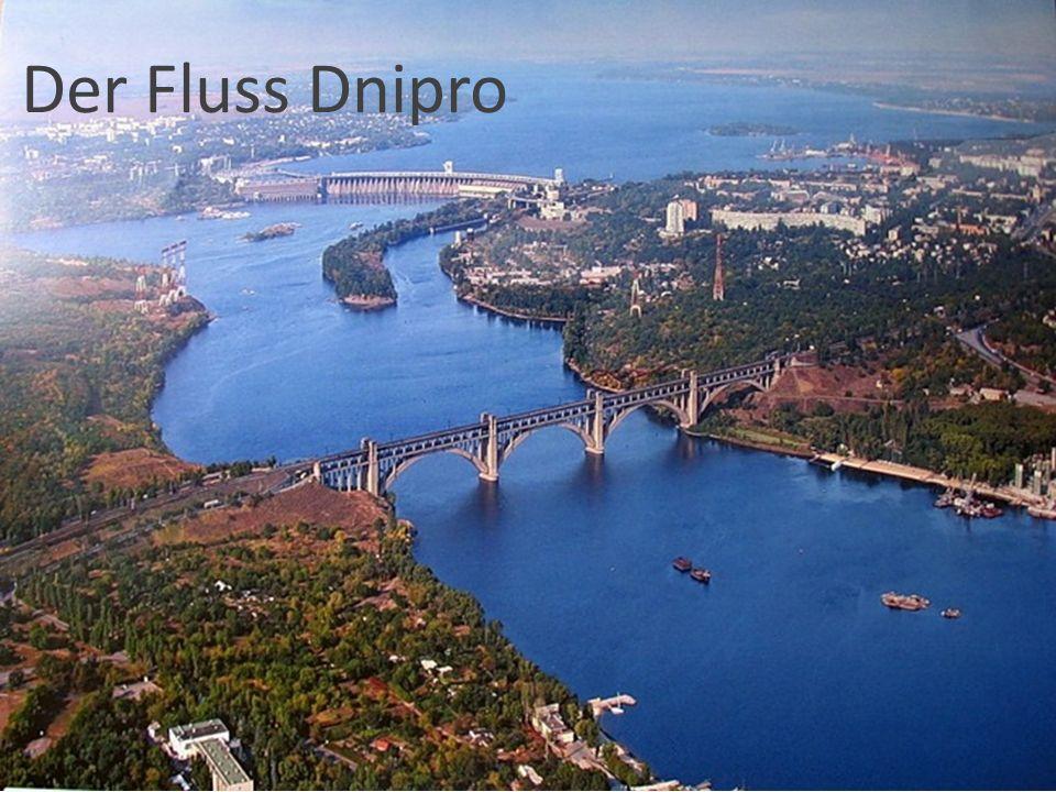 Der Fluss Dnipro