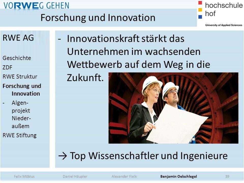 39 -Innovationskraft stärkt das Unternehmen im wachsenden Wettbewerb auf dem Weg in die Zukunft. Top Wissenschaftler und Ingenieure Forschung und Inno