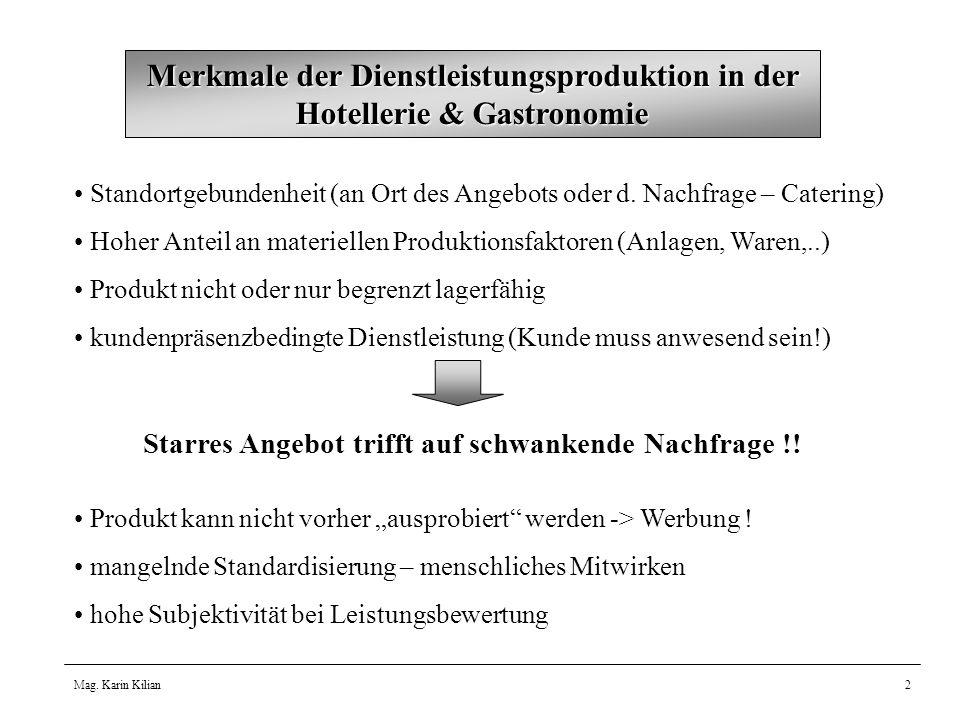 Mag.Karin Kilian3 Erstellung der Betriebsbereitschaft – hohe Fixkosten .