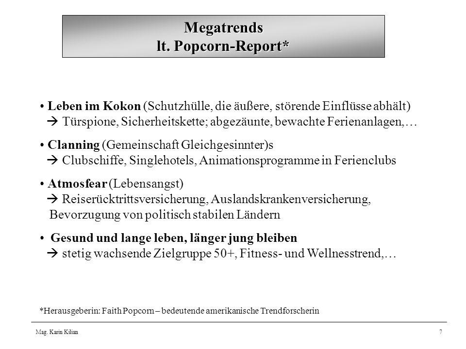 Mag.Karin Kilian7 Megatrends lt.