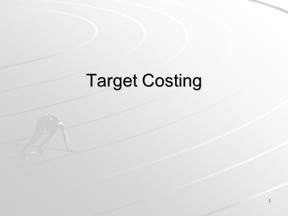 1 Target Costing