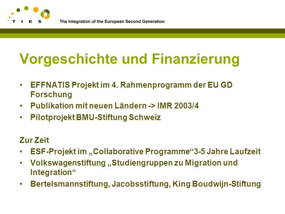 Vorgeschichte und Finanzierung EFFNATIS Projekt im 4.
