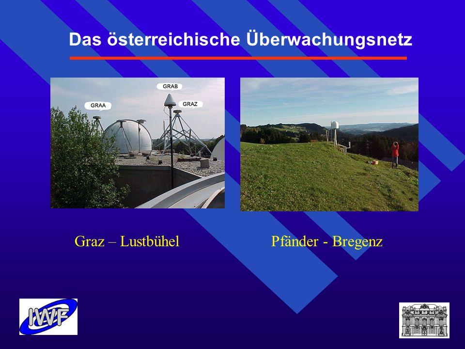 Das österreichische Überwachungsnetz Graz – Lustbühel Pfänder - Bregenz