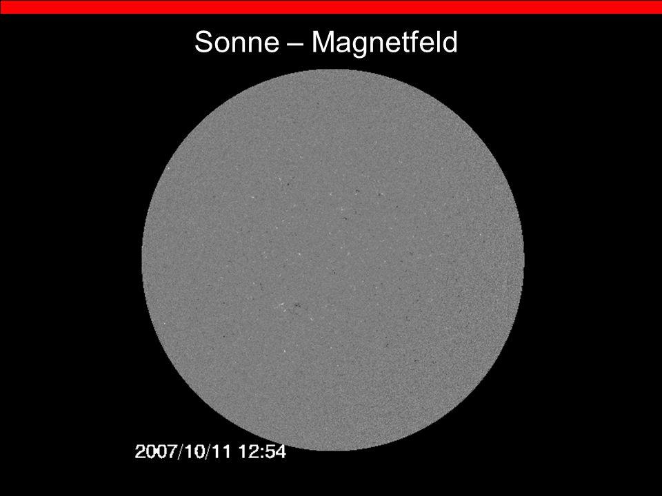 Sonne – Magnetfeld
