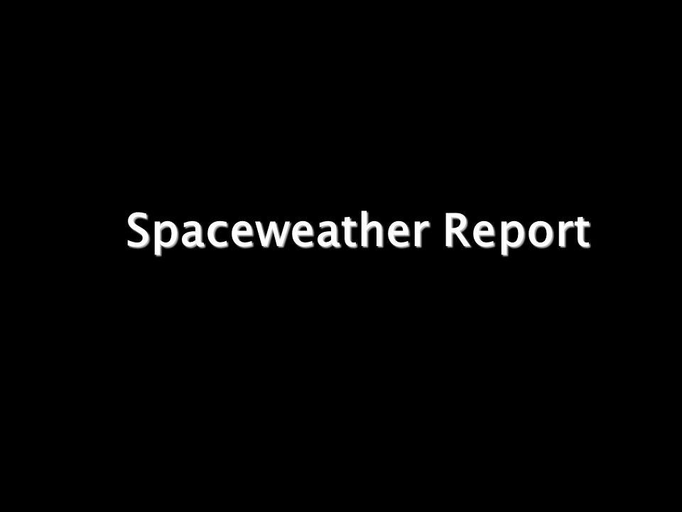 Wie ist das aktuelle Weltraumwetter .Bodenstation .