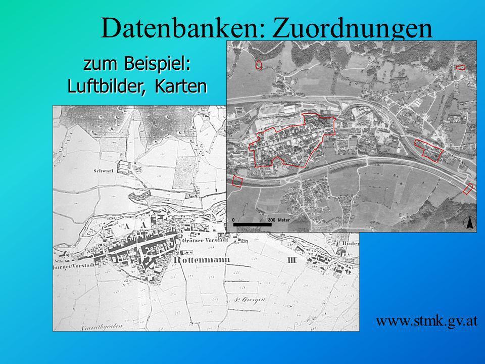 Attributdaten - Beispiel Ortsbildschutz Steiermark n Name n Jahr der Verlaut- barung n LGBl.Nr./ Stück n... stmk.gv.at/land/gis/
