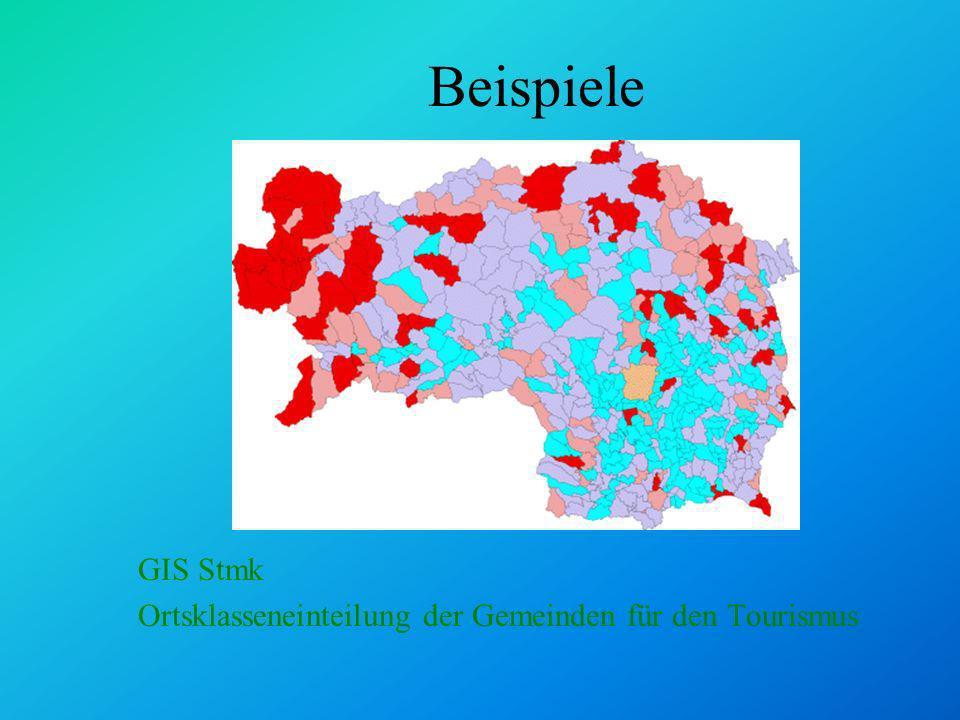 Beispiele GIS Stmk DKM-Gebäude und Hausnummern