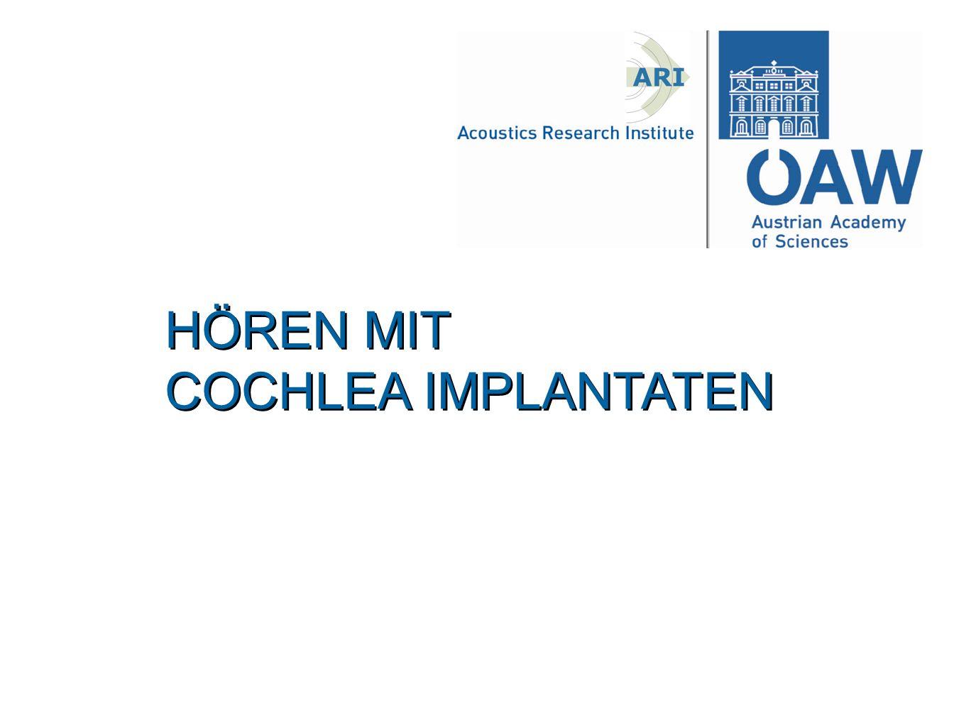 Was ist ein Cochlea Implantat.