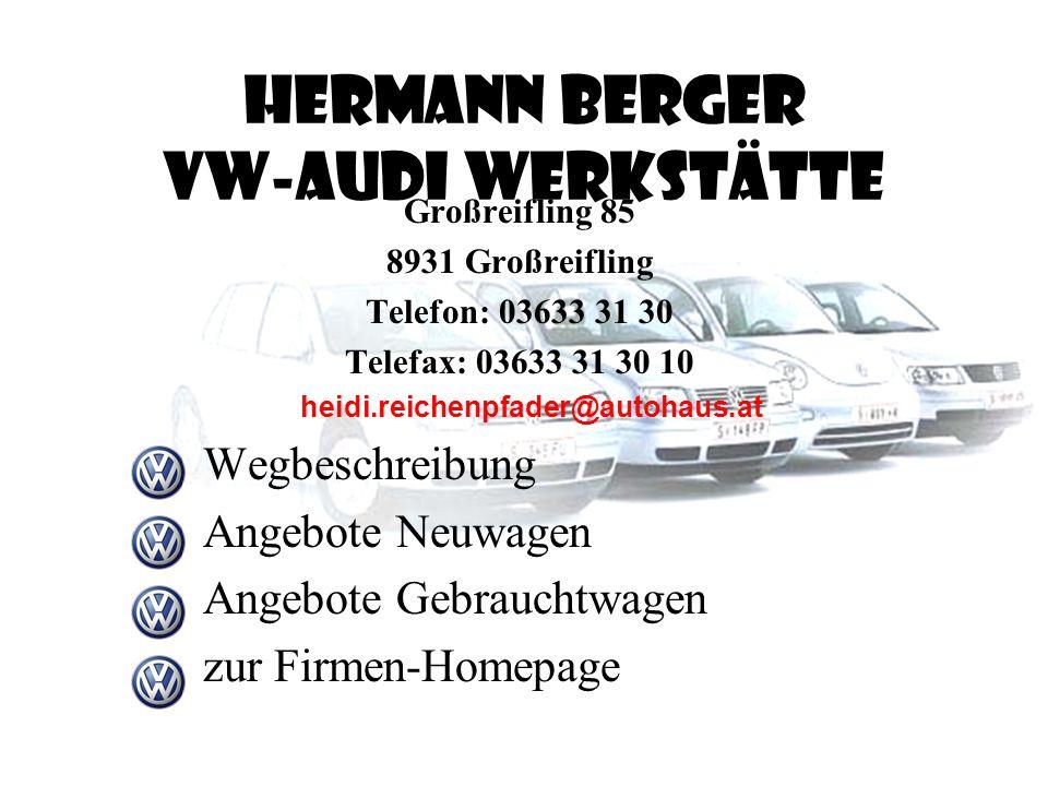 Angebote VW Golf neu VW Weihnacht Liezen/Trautenfels/Trieben VW Berger Großreifling VW Meissnitzer Haus/Ennstal